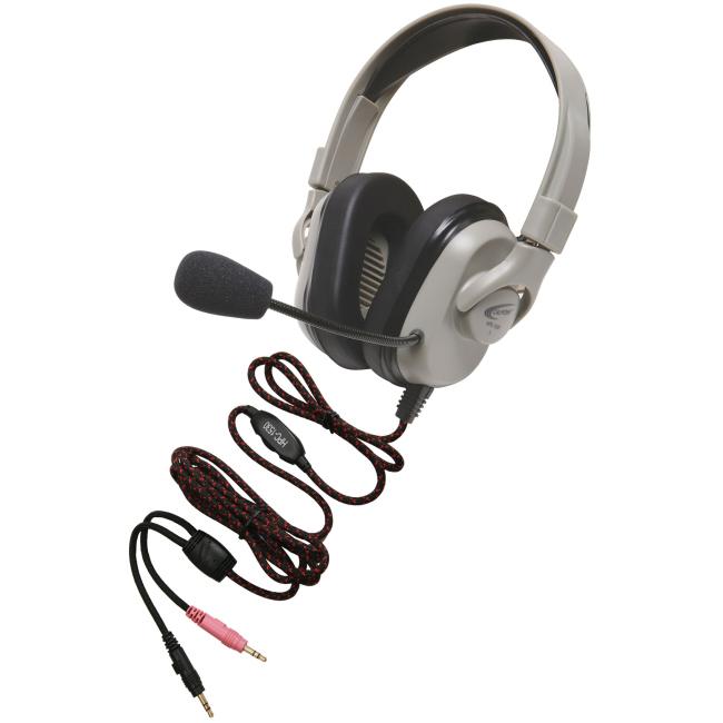 Califone Titanium Headset with Guaranteed for Life Cord HPK-1530