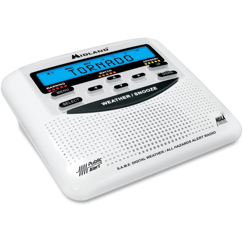 Midland Desktop Weather Alert Radio WR120B MROWR120B WR120
