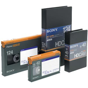 Sony HDCAM Small Videocassette BCT40HD