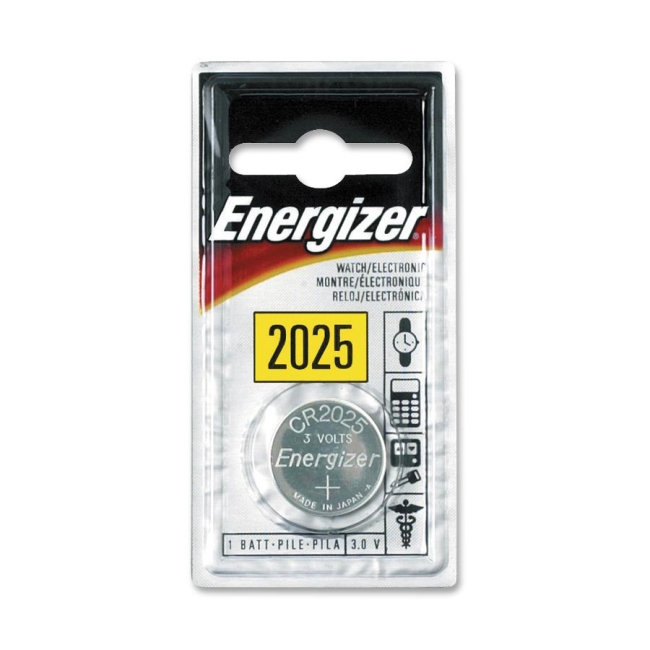 Energizer Lithium General Purpose Battery ECR-2025BP EVEECR2025BP
