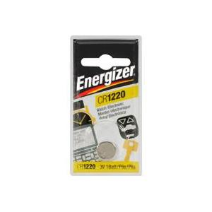 Energizer Lithium Button Cell Battery ECR-1220BP