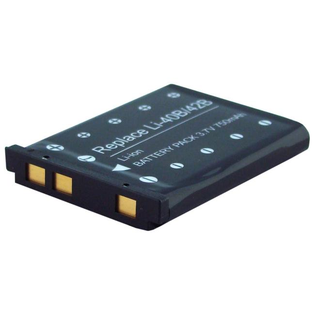 Denaq 750mAh Li-Ion Camera/Camcorder Battery for OLYMPUS DQ-RI40BH