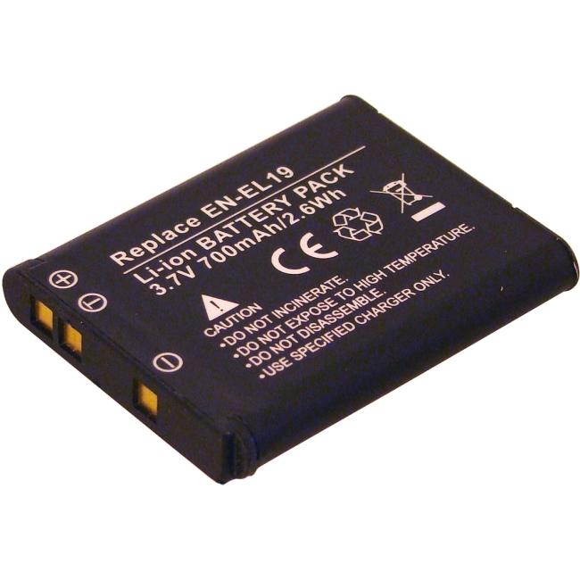 Denaq 700 mAh Li-Ion Camera/Camcorder Battery for NIKON DQ-RL19