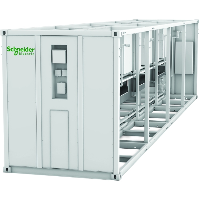 Schneider Electric EcoBreeze Frame 40' (12m) 480/3/60 VAC 7 Modules Installed ACECFR40200SE7