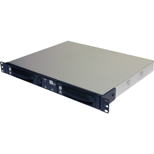 CRU JBOD Rackmount Enclosure with DataPort 10 Bays and Fast 6 Gbps Speeds 41600-1130-0000 RAX211-XJ