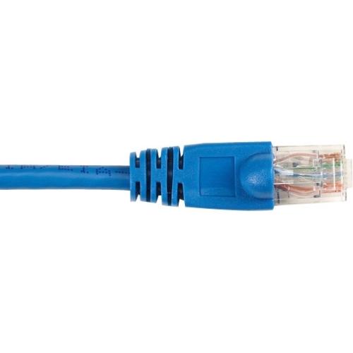 Black Box CAT5e Value Line Patch Cable, Stranded, Blue, 2-ft. (0.6-m), 10-Pack CAT5EPC-002-BL-10PAK