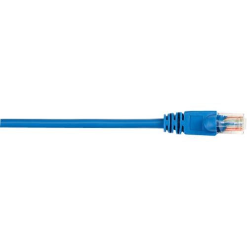 Black Box CAT5e Value Line Patch Cable, Stranded, Blue, 15-ft. (4.5-m), 25-Pack CAT5EPC-015-BL-25PAK
