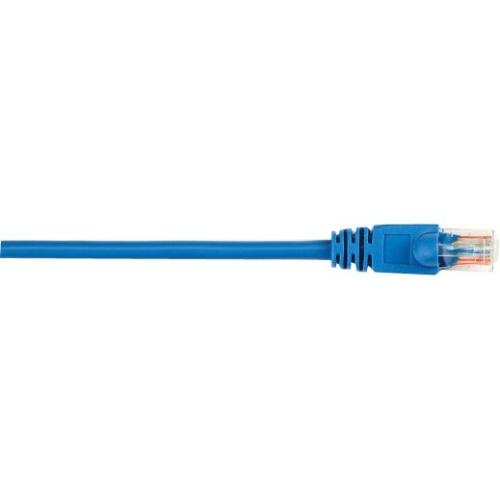 Black Box CAT5e Value Line Patch Cable, Stranded, Blue, 20-ft. (6.0-m), 5-Pack CAT5EPC-020-BL-5PAK