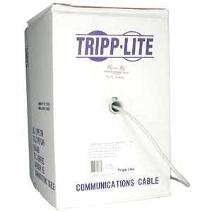 Tripp Lite Cat5e Bulk Cable N022-01K-BL