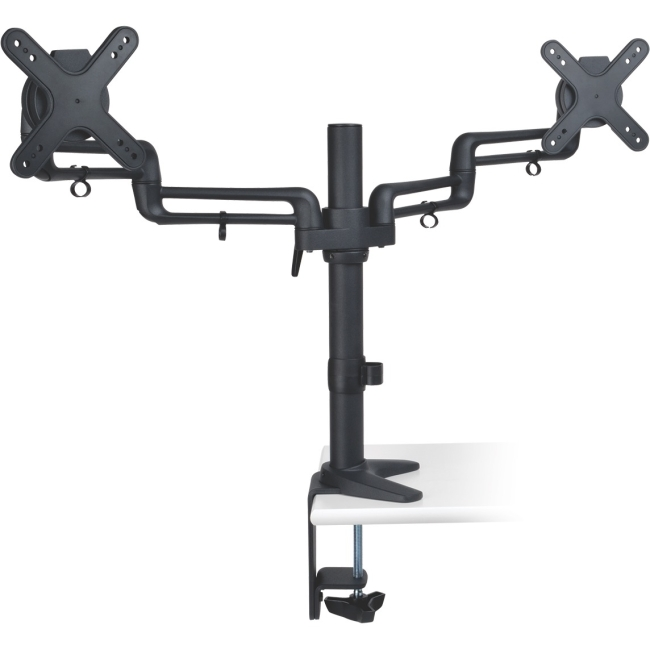 "Tripp Lite Dual Full-Motion Flex Arm Desk Clamp for 13"" to 27"" Flat-Screen Displays DDR1327SDFC"