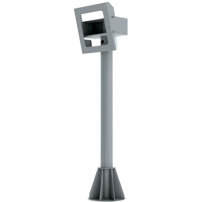 Peerless-AV 5ft. Indoor/Outdoor Tilting Pedestal Mount For Protective Enclosures (FPE42(H)-S FPEPM-05