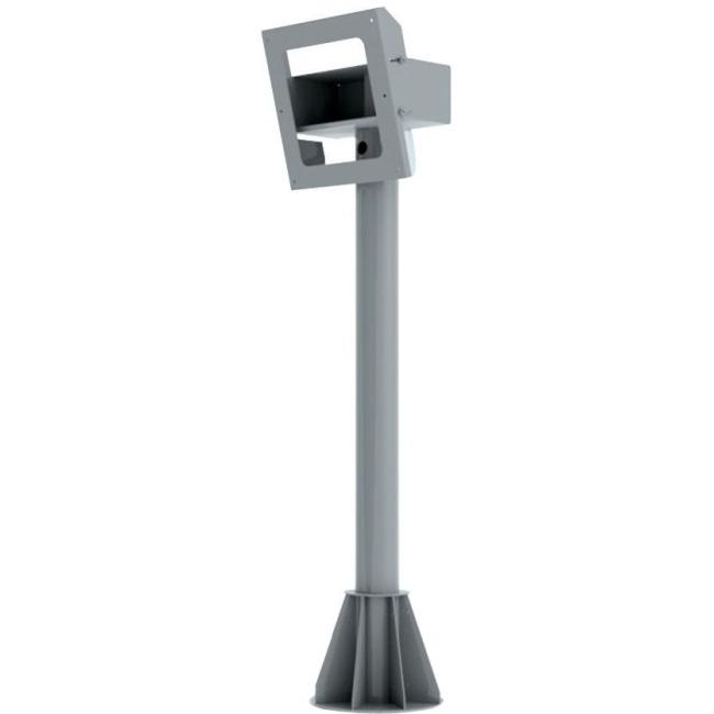 Peerless-AV 6ft. Indoor/Outdoor Tilting Pedestal Mount For Protective Enclosures (FPE42(H)-S FPEPM-06