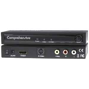 Comprehensive Composite, S-Video and Audio to HDMI Converter CCN-CSH101