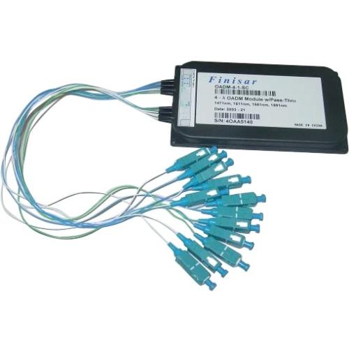 Finisar CWDM Mux/Demux-4-EX Optibox Module M/DF-4-EX-LC