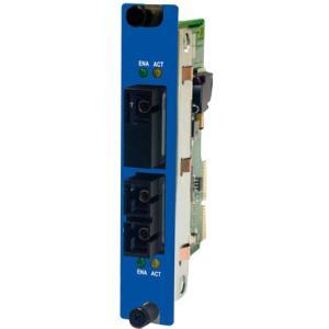 IMC Single-mode to Multi-mode Fiber Transceiver RoHS Compliant 850-14560 iMcV-S2MM/155
