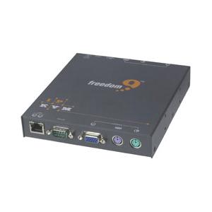 Freedom9 FreeView 1-Port KVM Switch KVM-01IA IP 100