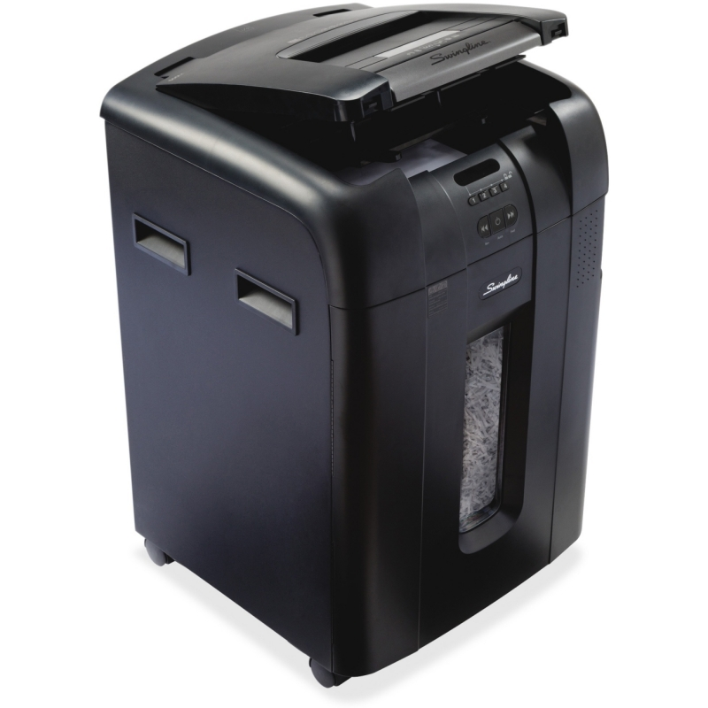 Swingline Stack-and-Shred Automatic Shredder 1757577 SWI1757577 600X