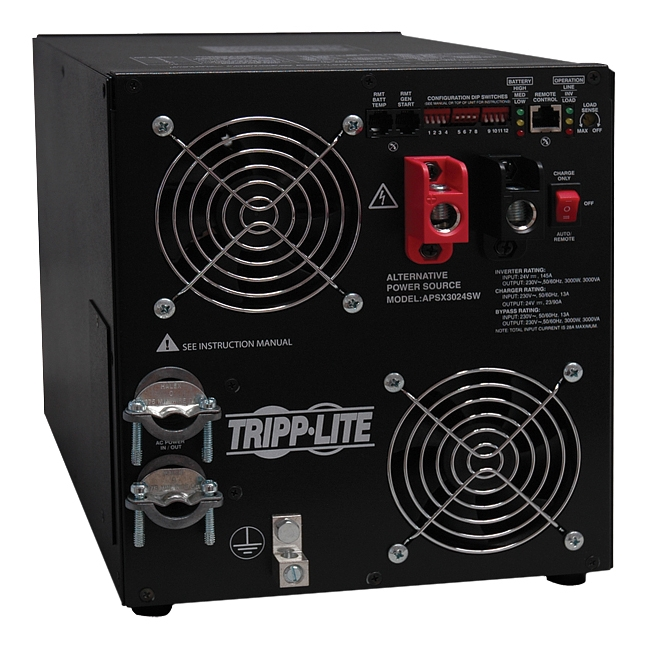 Tripp Lite PowerVerter DC-to-AC Power Inverter APSX3024SW