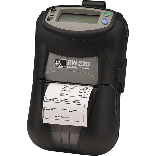 Zebra Mobile Printer R2D-0UBA000N-03 RW 220