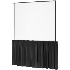Da-Lite Black Tripod Skirt 80568