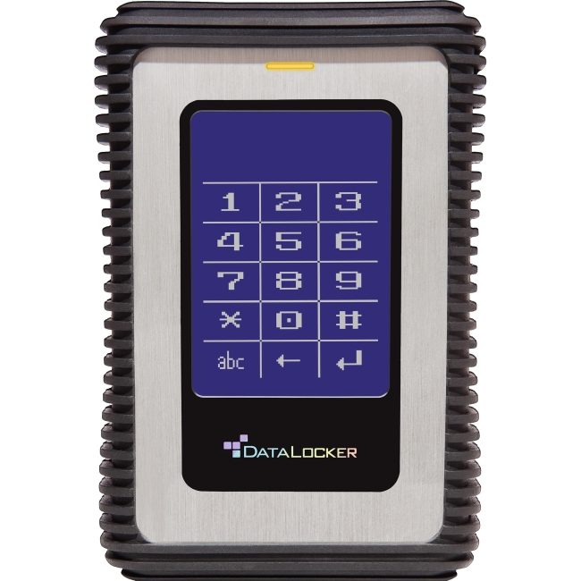DataLocker DL3 - USB 3.0 HDD with AES XTS Mode Hardware Data Encryption 2TB DL2000V3