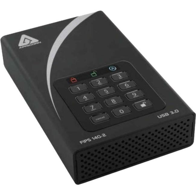 Apricorn Aegis Padlock DT FIPS - USB 3.0 Desktop Drive ADT-3PL256F-2000