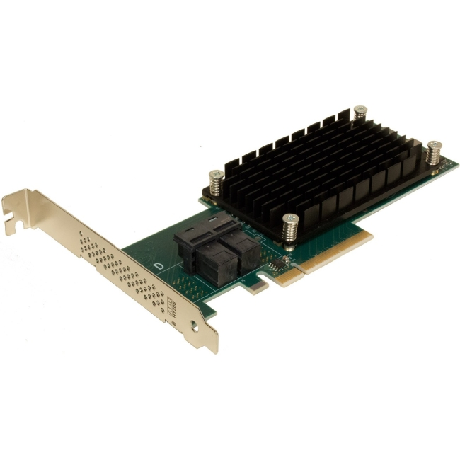 ATTO 8 Internal Port 12Gb/s SAS/SATA to PCIe 3.0 Host Bus Adapter ESAH-1208-000