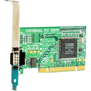 Brainboxes 1 Port RS232 PCI Serial Port Card UC-246 UC-246-X10