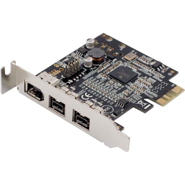 SYBA Multimedia 2 Port 1394B Firewire &1 Port 1394A PCI-e 1.0 x1 Card SD-PEX30009