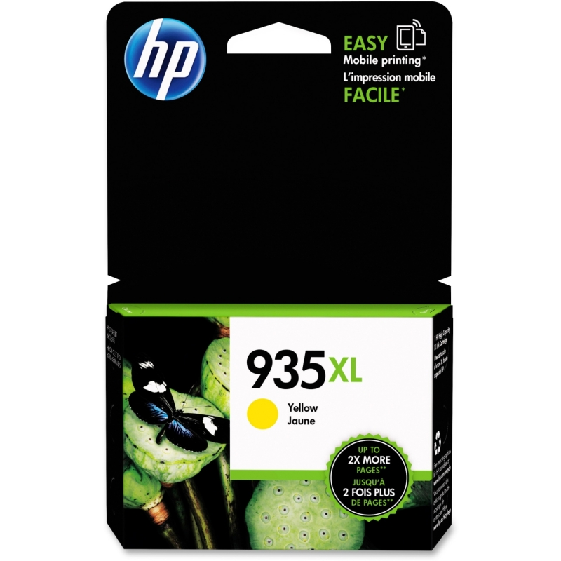 HP High Yield Yellow Original Ink Cartridge C2P26AN#140 935XL