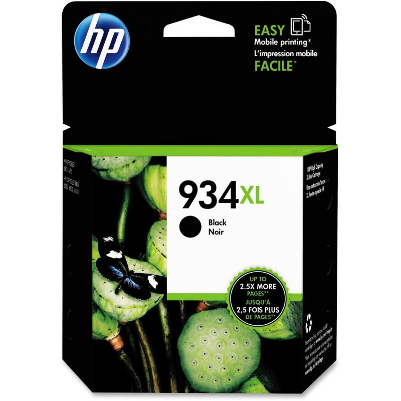 HP High Yield Black Original Ink Cartridge C2P23AN#140 934XL