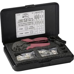 Black Box RG-58/59 Coax Crimp Tool Kit FT098A