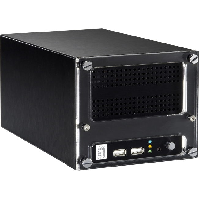 LevelOne Network Video Recorder, 4-Channel NVR-1204