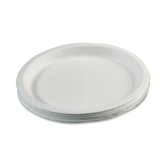 SKILCRAFT SKILCRAFT Disposable Paper Plate 7350-00-899-3056 NSN8993056
