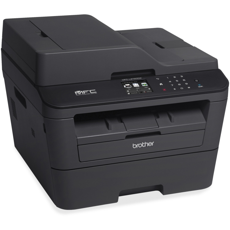 Brother Compact Mono Laser All-in-One Printer + Wi-Fi and Wired Network MFCL2720DW BRTMFCL2720DW MFC-L2720DW