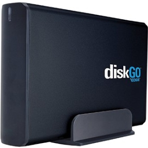 "EDGE 500GB DiskGO 3.5"" External USB 2.0 Hard Drive (Black) PE233013"