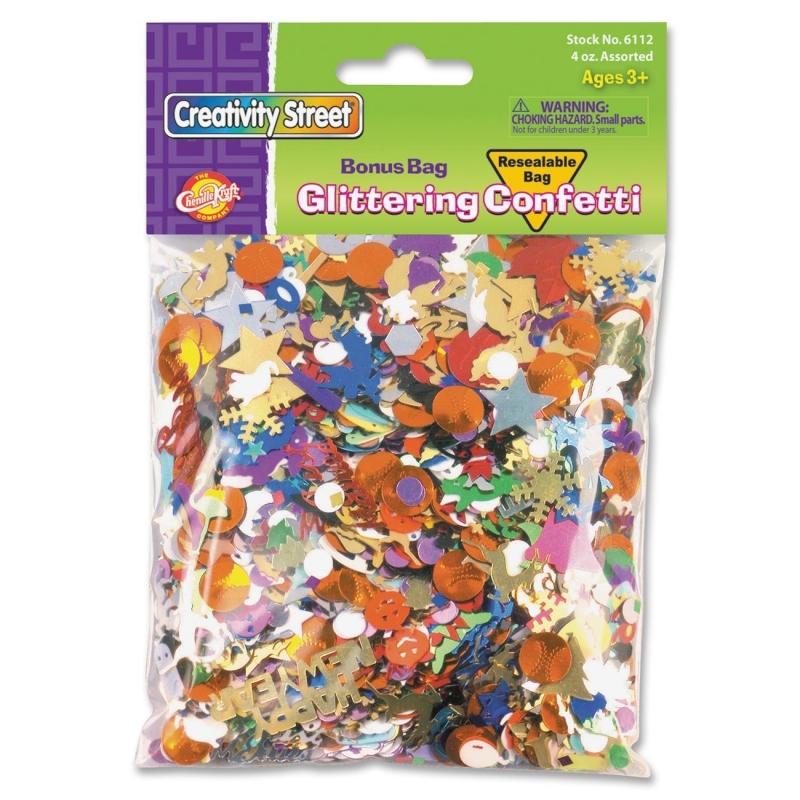 ChenilleKraft Glittering Confetti Bonus Bag 611202 CKC611202