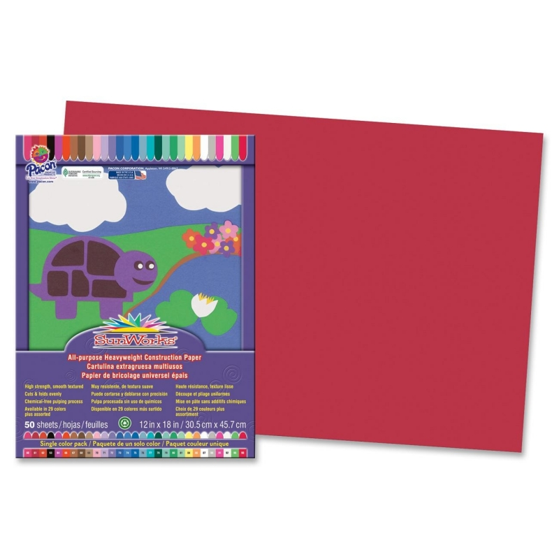 Pacon SunWorks All-purpose Construction Paper 6107 PAC6107