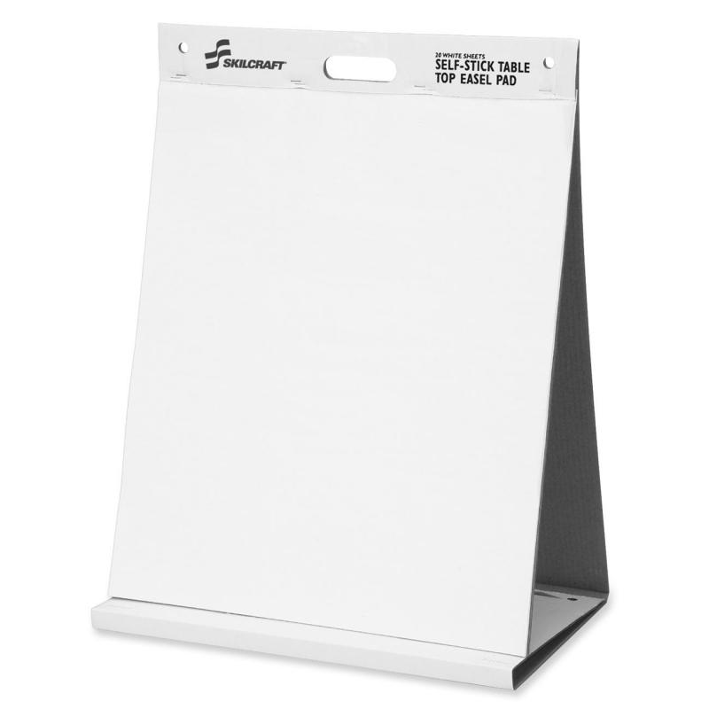 SKILCRAFT Unruled Easel Pad NSN6198880