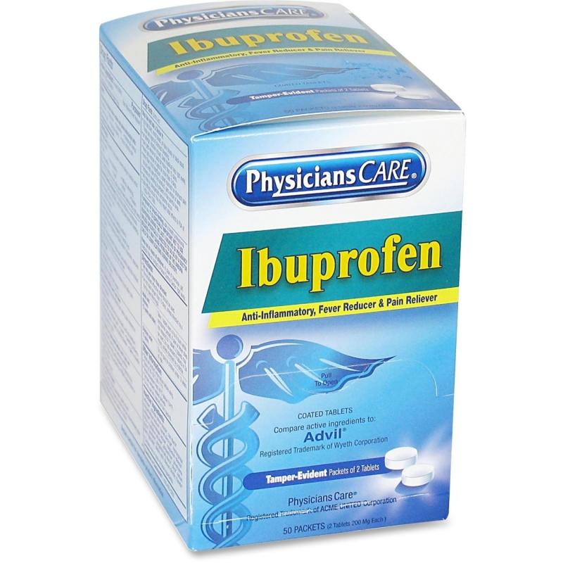 PhysiciansCare Ibuprofen Individual Dose Packet 90109 ACM90109
