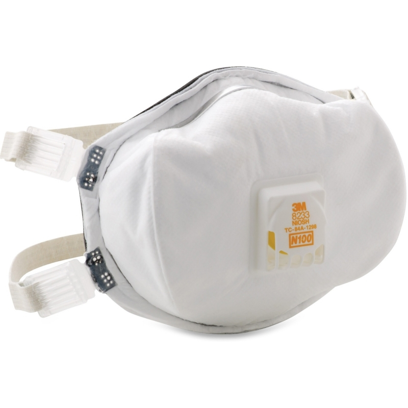 3M Disposable N100 Particulate Respirator 8233 MMM8233