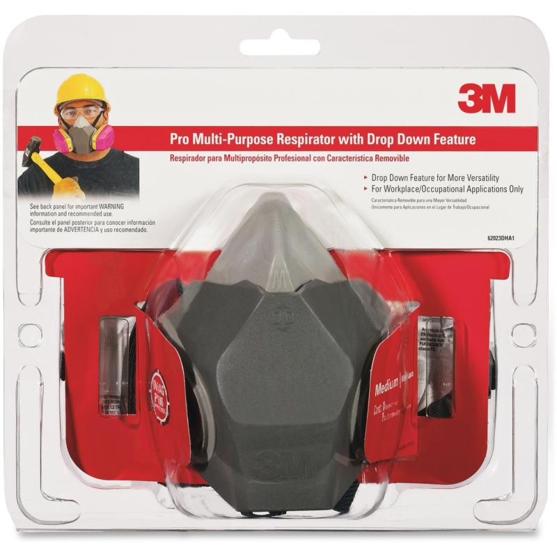 Tekk Protection Multi-purpose Respirator 62023HA1C MMM62023HA1C