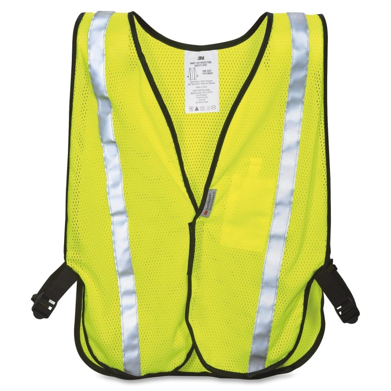 3M Reflective Yellow Safety Vest 9460180030T MMM9460180030T