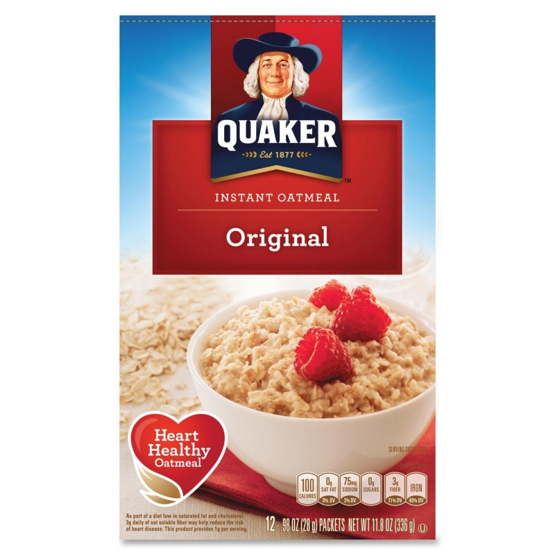 Quaker Oats Foods Instant Oatmeal 01210 QKR01210