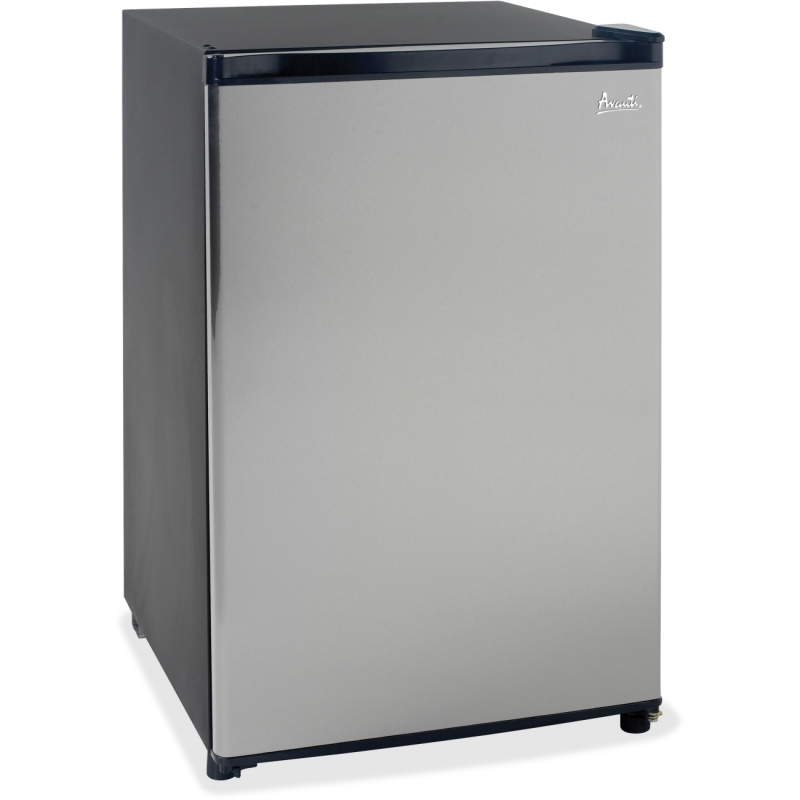 Avanti Avanti Model - 4.4 CF Counterhigh Refrigerator - Black w/Stainless Steel Door RM4436SS AVARM4436SS