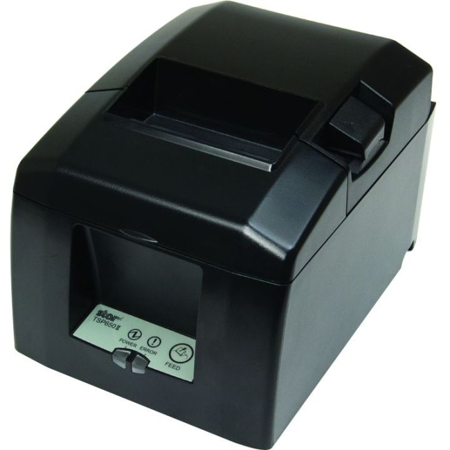 Star Micronics TSP650II Thermal Receipt Printer with WebPRNT Interface 37963901 TSP654IIWEBPRNT 24 GRY US