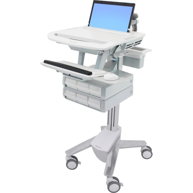 Ergotron StyleView Laptop Cart, 6 Drawers SV43-1160-0 SV43