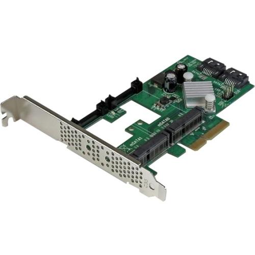 StarTech.com PCIe mSATA/SATA Controller Card PEXMSATA3422