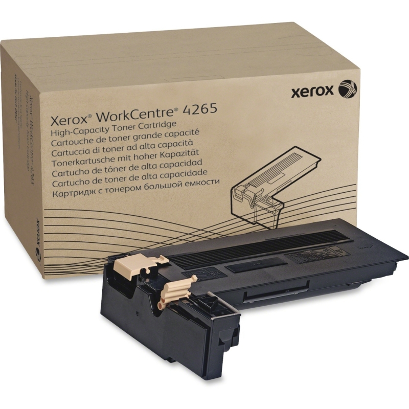 Xerox Black High Capacity Toner Cartridge, WorkCentre 4265 (25,000 Pages) 106R02734 XER106R02734