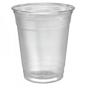 Dart Ultra Clear Cups, Squat, 12-14 oz, PET, 50/Pack DCCTP12PK DCC TP12